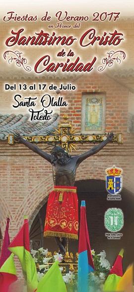 Programa de las Fiestas de Verano 2017 en honor al Stmo. Cristo de la Caridad en Santa Olalla (del 13 al 17 de julio del 2017) 2017%20Cristo%20de%20la%20Caridad%2001