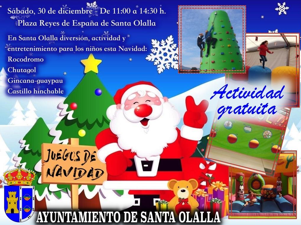 Ayuntamiento De Santa Olalla Juegos De Navidad Para Los Ninos